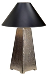 Metal Overlay Table Lamp