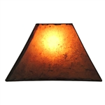 RECT - Rectangle Rawhide Amber Shade