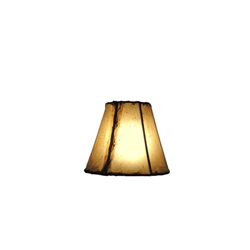 CHAND-SM - Chandelier Rawhide Natural Shade