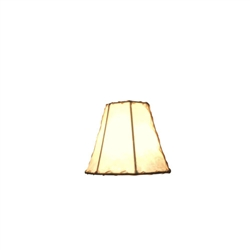 CHAND-SM - Chandelier Rawhide Off-White Shade
