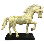 Carved Wooden Horse Statue