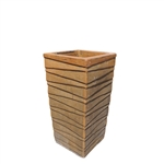 Ceramic Planter - Brown