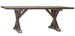 Montauk Dining Table with Butterfly Joints