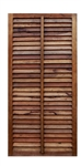 Shutter Wood Barn Door