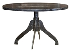 Bronx Iron Round Dining Table