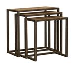 Jackson Rectangle Nesting Tables S/3