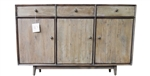 Bronx 3 Drawer 3 Door Sideboard