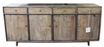 Bronx 4 Drawer 4 Door Sideboard