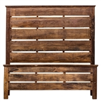 Jackson Wood Bed Plank Queen