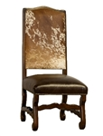 Alamos Cowhide & Leather Dining Chair