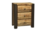 Bronx 3 Drawer Night Stand