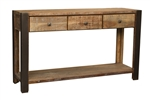 Bronx 3 Drawer Console Table
