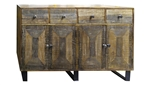 Bradley Sideboard 4 Door 4 Drawer
