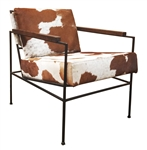Alamos Cowhide Club Chair