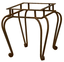 Forged Iron End Table Base