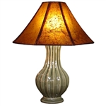 Glazed Thai Ceramic Lamp