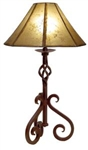 Iron Table Lamp