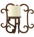 Iron Candle Sconces