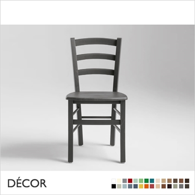 VENEZIA CHAIR, WOODEN SEAT