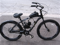"Onyx 29"" motorized bicycle"
