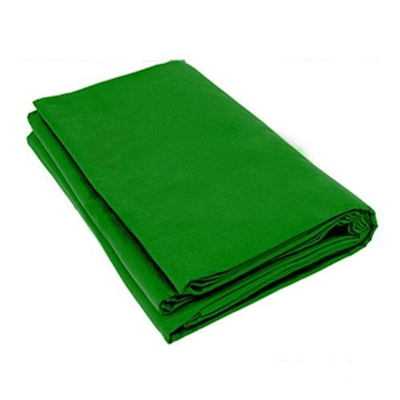 Heavy duty chromakey green 10'x20' muslin backdrop