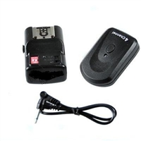 Pro 4 Channel Wireless Hot Shoe Flash Trigger Receiver Set
