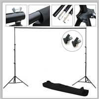 NEW Photo Studio 9'x10' Backdrop Support Stand Kit with 2 x FREE clamps