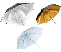 "Brand new photography 33"" translucent reflective umbrellas kit for photo studio"