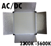 Pro 1080 LED Bi Color V Mount Video Dimmable LED Panel Light AC/DC  Photo Studio