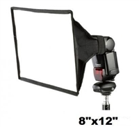 "Pro 12""x 8"" Flash Light Speedlite Softbox/ Diffuser For Canon Nikon Sony DSLR"