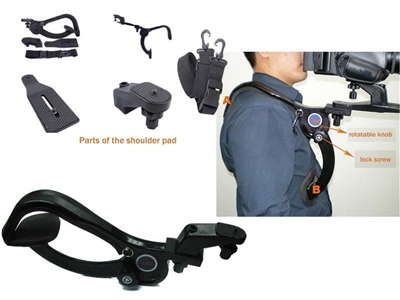 Hands Free Shoulder Support Holder Pad for Camcorder Video Camera DV/DC