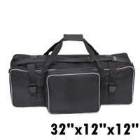 "Pro 32"" L completed Padded Studio Light Carrying Case with inner compartments"