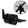 Adapter Dual Grip Clamp  Boom Arm to Light Stand Reflector Piviting Boom Clamp