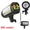 NEW PRO 300W/S STROBE STUDIO FLASH DIGITAL MONOLIGHT MASTER HEAD