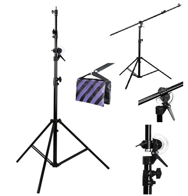Pro Convertible Heavy duty Boom / Stand with Sandbag 13.5 ft Photo studio Stand