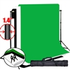 PRO Heavy Duty 10'x20' Backdrop High Key Muslins & 10'x12' Support System