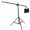 Pro Heavy Duty Boom Arm Air Cushioned Lighting Stand Kit made of 100% metal