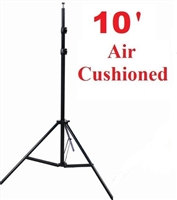 Pro Photo Studio 10' Air Cushioned Heavy Duty Light Lighting Stand WARRANTY