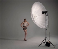 Pro Studio Translucent  72 inch Parabolic Umrella white 16-rib  Photo