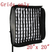 "NEW 50cm / 20"" honeycomb gird for SpeedLight Flash Softbox with velcro"