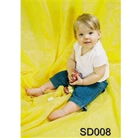 NEW Fantasy Cloth 10' X 20' Photo Studio Backdrop SD008 Solid Yellow Background