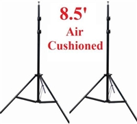 Pro 2 x 8.5' Air Cushioned Heavy duty Light Lighting Stands WARRANTY