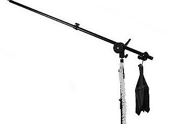 NEW Studio Boom Stand Photography 5.5' Boom Arm Clamp Sand bag Kit