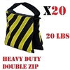 NEW 20 pcs PRO Photo Studio Light Stand Sandbag 20lbs