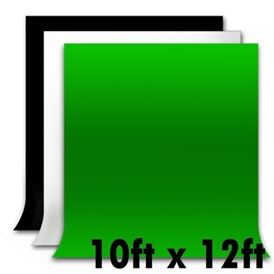 NEW HIGH KEY Muslins Heavy duty Background 10' x 12' Backdrop Photo Studio set