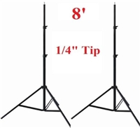 Pro Photo Studio 2 x 8' Heavy Duty Light Lighting Stand WARRANTY