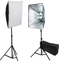 Digital Photography Softbox 1600W Fluorescent video Continuous Lighting Kit