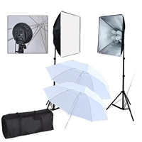 Pro 1600W PHOTO LIGHTING KIT STUDIO SOFTBOX UMBRELLA LIGHT SET