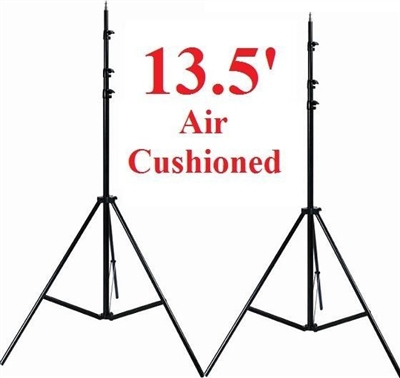 NEW Pro Heavy Duty 13.5' Air cushioned Lighting Stands Tripod Studio Photo Stand