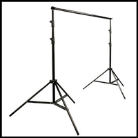 Pro 13.5' x 10' Backdrop Stand kit Cast Metal Background Support Systems